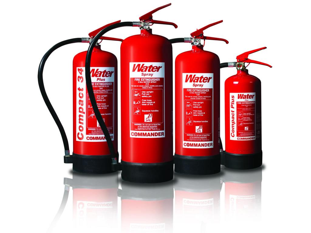 Extintores de incêndio a base de agentes extintores (Água e químicos) no artigo quase tudo sobre extintores de incêndio no site www.meunegociomelhor.com.br