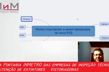 Nesse vídeo falo sobre as implicações das novas portarias para as empresas de Inspeção Técnica e Manutenção de Extintores